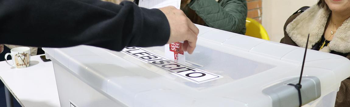 Plebiscito Nacional 2020: 2 votos, cada uno con dos opciones