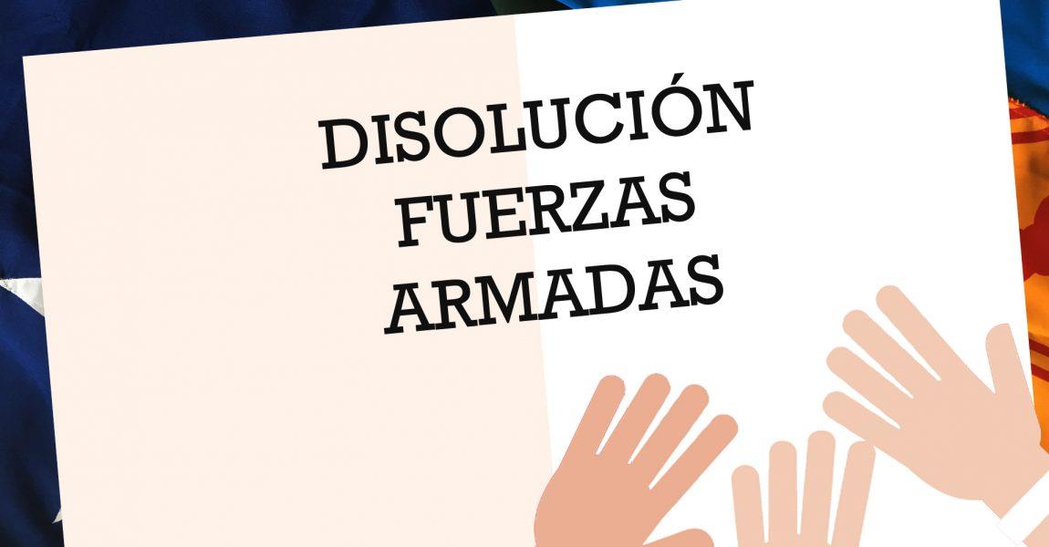 Disolución de las FF.AA.